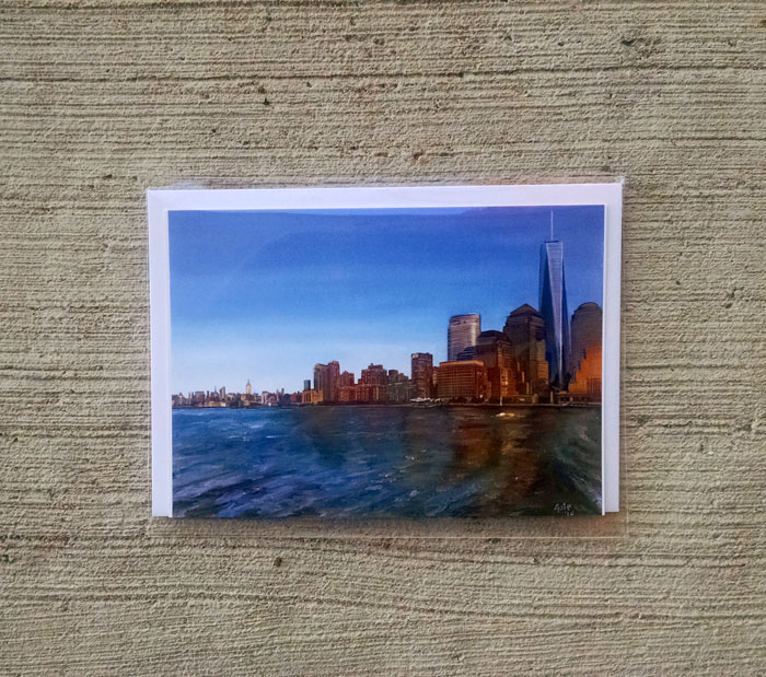 """FREEDOM TOWER"" - Individual Greeting Card"