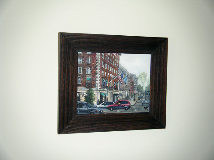 """BACK BAY"" - 10x8"" Original Oil Painting"