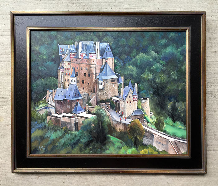 """BERG ELTZ"" - 15x12"" Original Oil Painting"