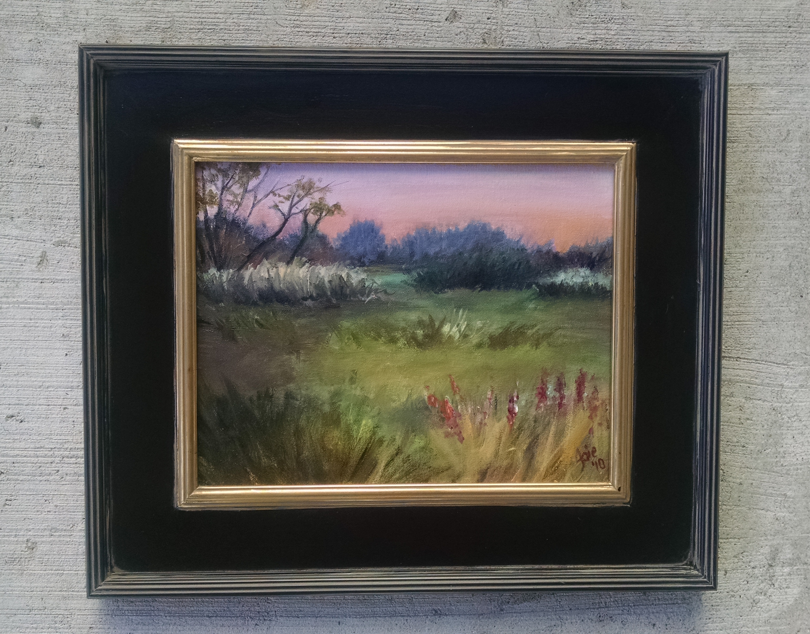 """INDIAN SUMMER"" - 14x11"" Original Oil Painting"