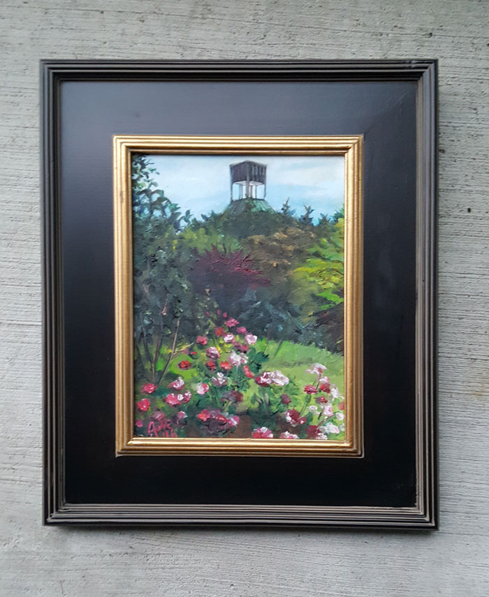 """West Side Roses"" - 9x12"" Original Oil Painting"