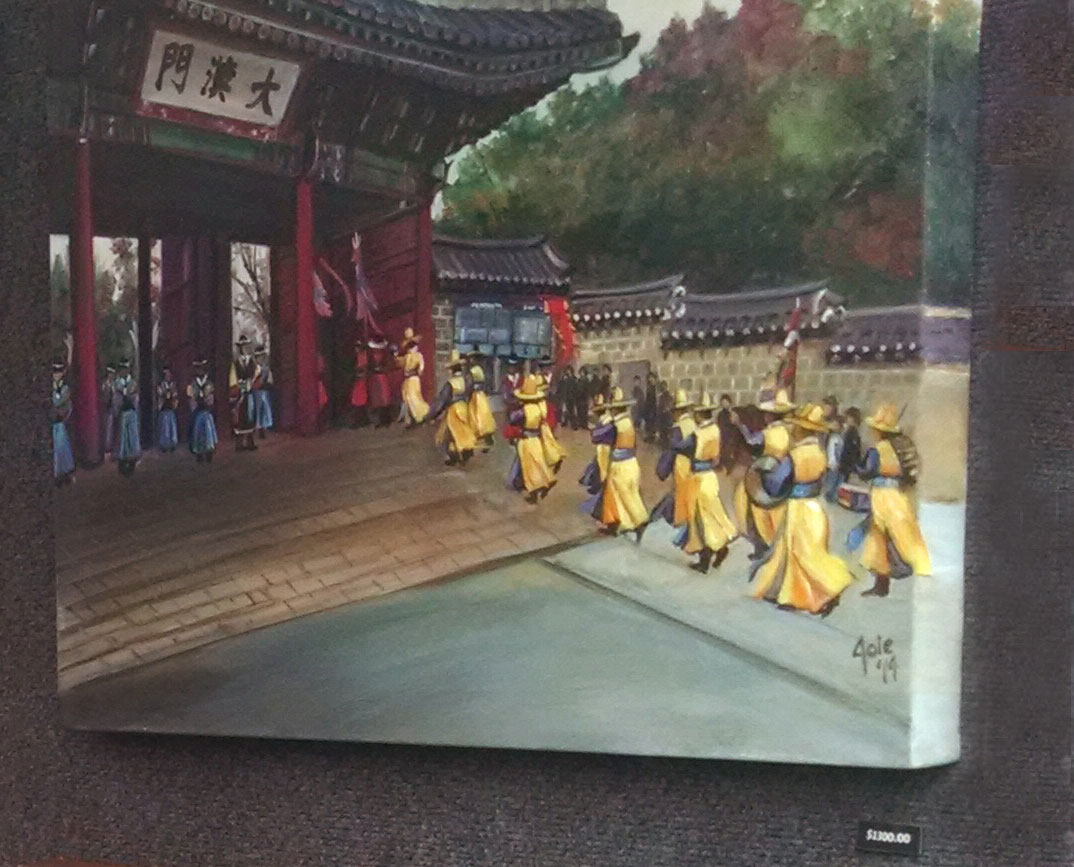 """IMPERIAL PROCESSION"" - 24x18"" Original Oil Painting"