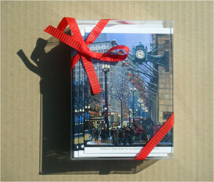 """HOLIDAY ON STATE STREET"" - Box of 30 Cards"