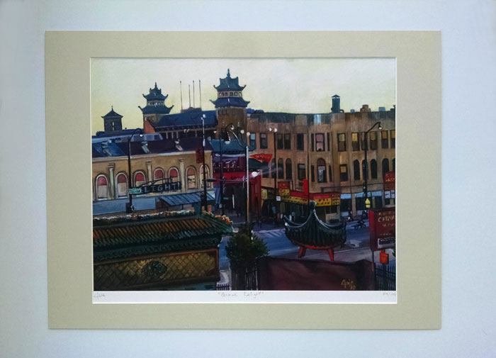"""CERMAK DELIGHT"" - Matted Print"