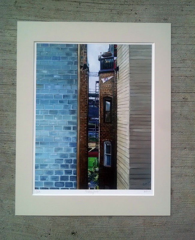 """CUBBYHOLE"" - Matted Print"