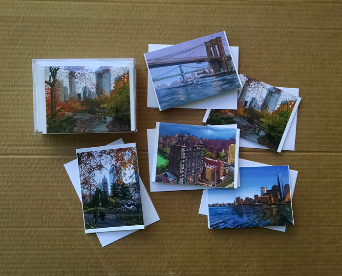NEW YORK CITY NOTECARDS - Variety Pack of 30