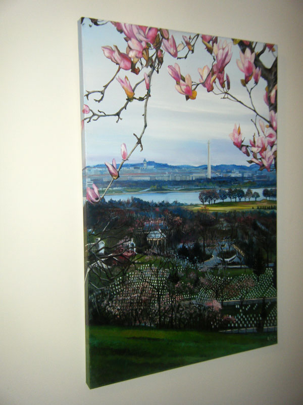 """POTOMAC VIEW"" - 24x36"" Original Oil Painting"