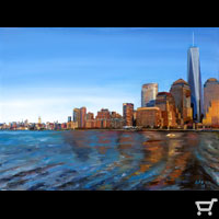 Unframed Print Freedom Tower