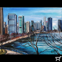 Thumbnail of Lakefront Skyline