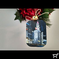 Wrigley Building Chicago Christmas Ornament