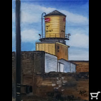 Thumbnail of Water Tower Yellow