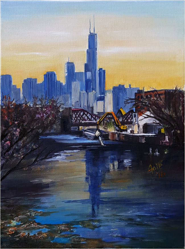 Chicago Plein Air Painting Industry