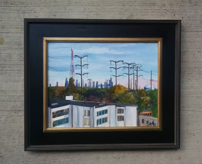 """ALMOST URBAN"" - 18x14"" Original Oil Painting"